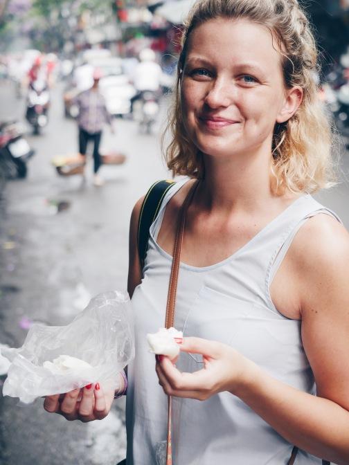 Street Food in Hanoi