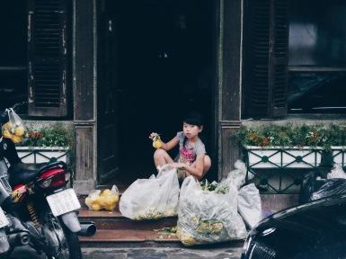 Girl in Hanoi